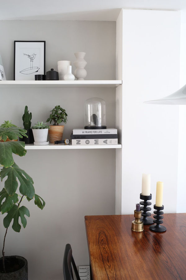 Dining area and shelves | Design Hunter
