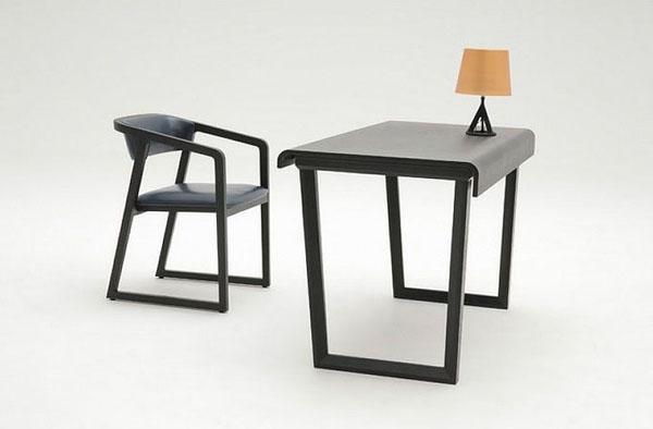 Bend desk by Camerich | Design Hunter