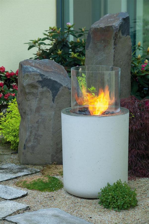 Concrete bio fire by Urban Icon | Design Hunter