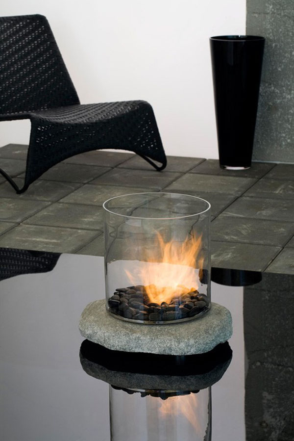 Stone ethanol bio fire | Urban Icon