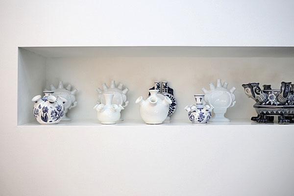 Delft tulip vases at The Conservatorium Hotel Amsterdam | Design Hunter