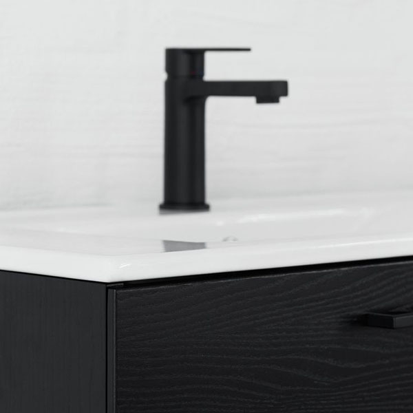 black bathroom tap from Swoon | Design Hunter