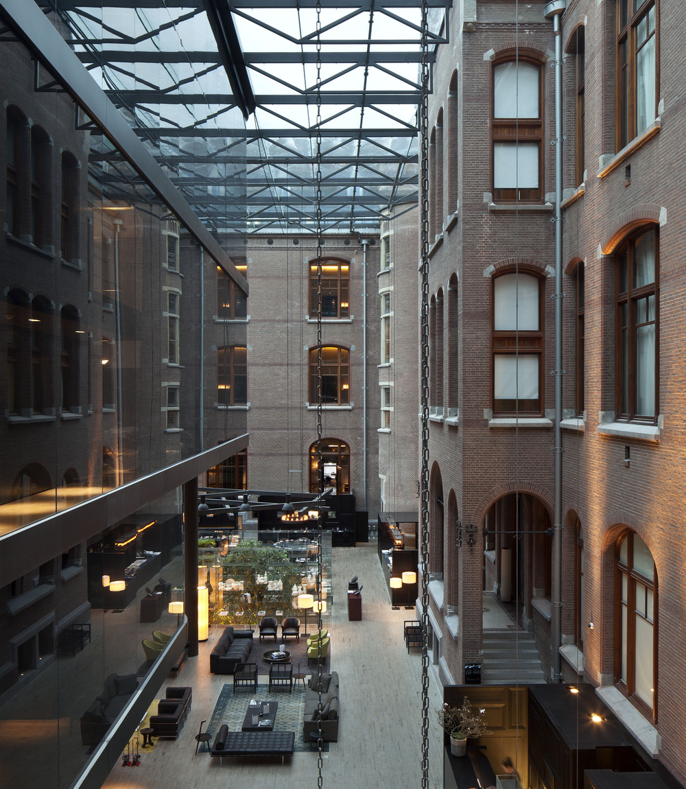 The conservatorium amsterdam design hunter for Design hotels amsterdam