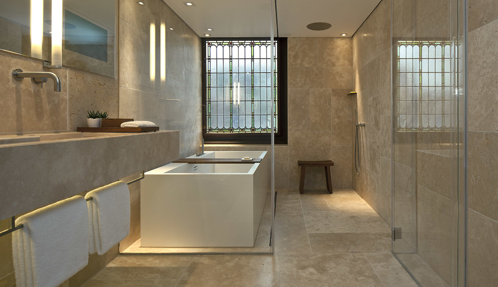 Bathroom at The Conservatorium Hotel | Amsterdam