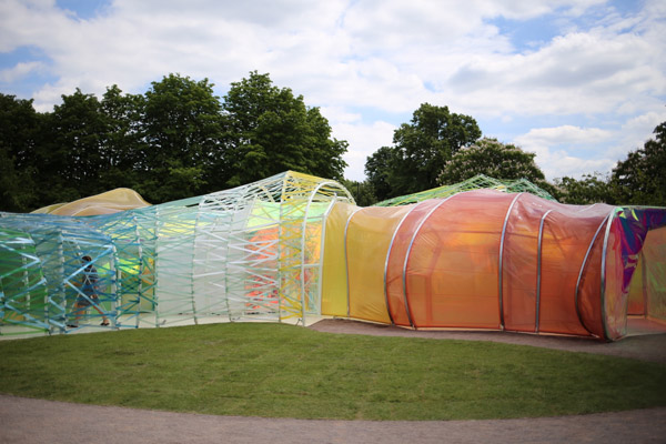 The 2015 Serpentine Pavilion by SelgasCano