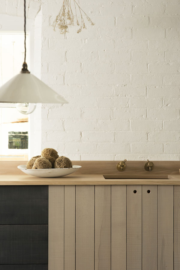 Modern rustic kitchen by Sebastian Cox for deVOL