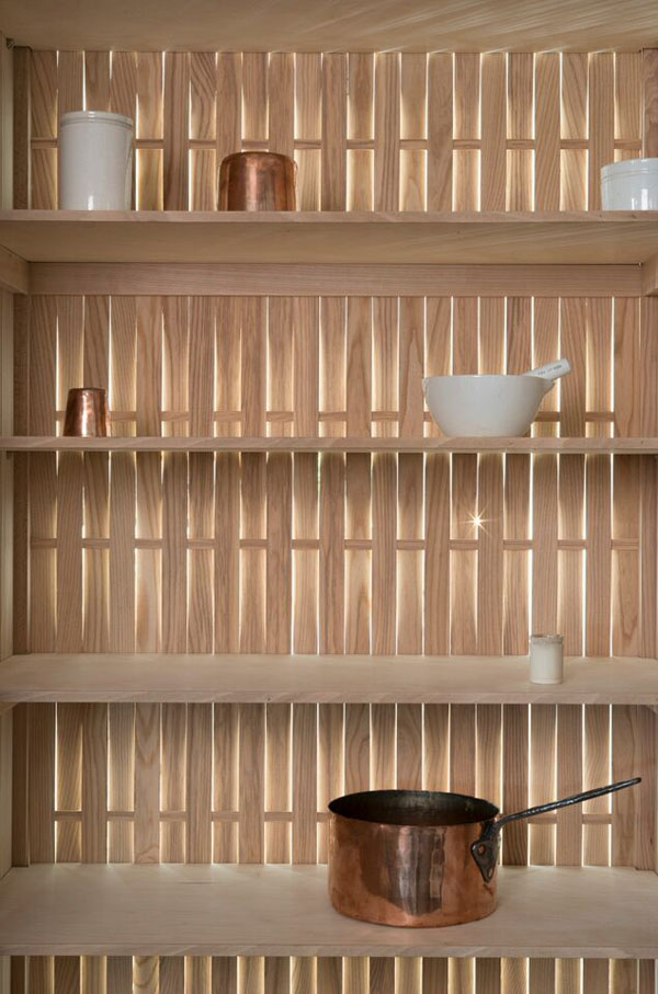 Coppiced beech panel - Sebastian Cox for deVOL