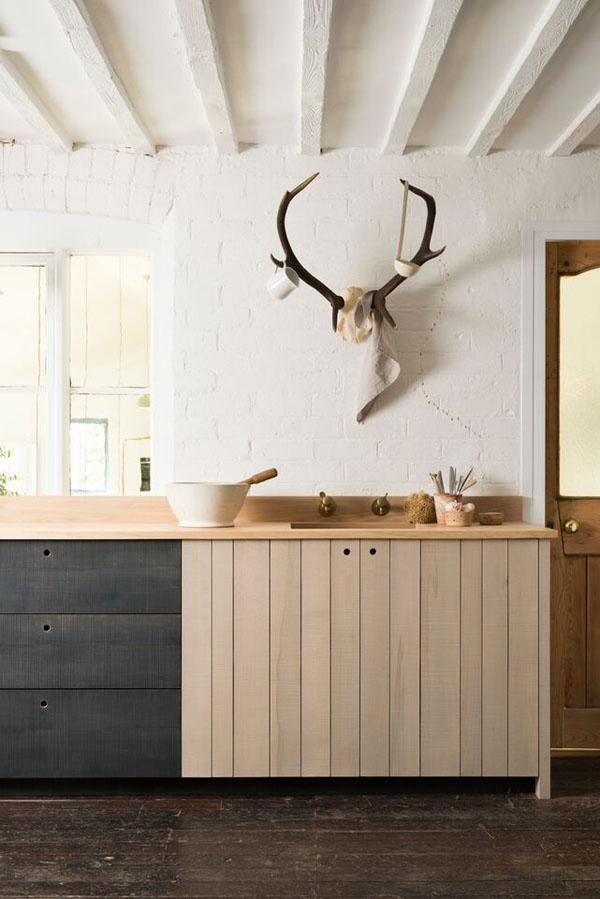 Modern rustic kitchen by Sebastian Cox for deVOL