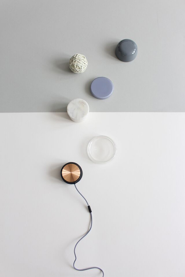Monocle speaker by Native Union | Styling by Hege Morris and Deborah Gordon