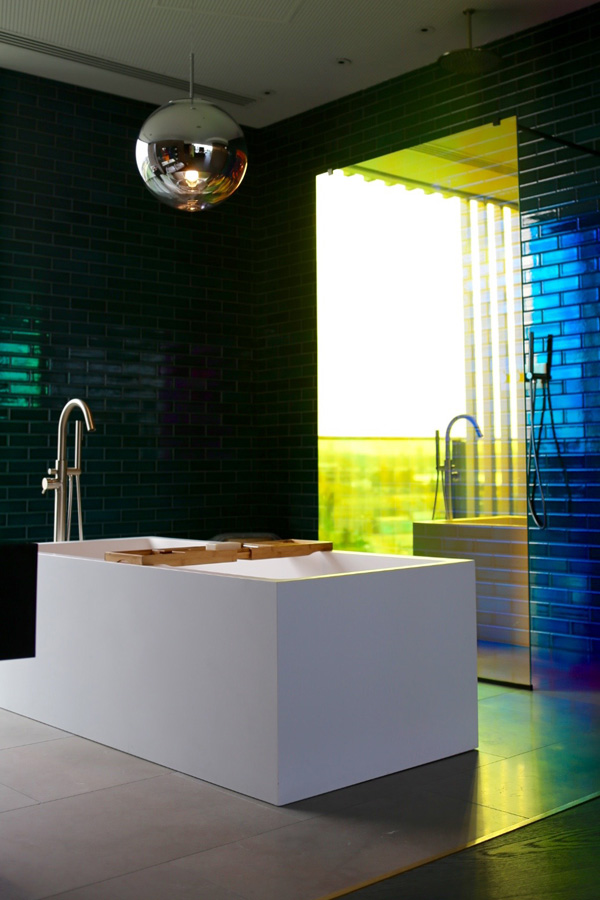 Bathroom - Tom Dixon Penthouse | Design Hunter