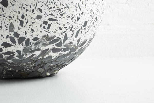 Slate bowl by Stephanie Tudor