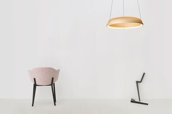 Mesh Space pendant and Felix chair | Resident