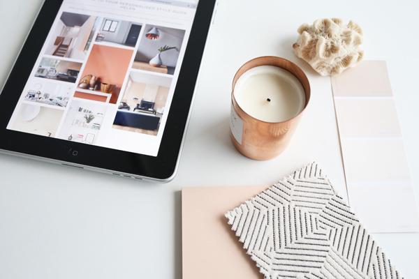 Copper blush moodboard | Design Hunter
