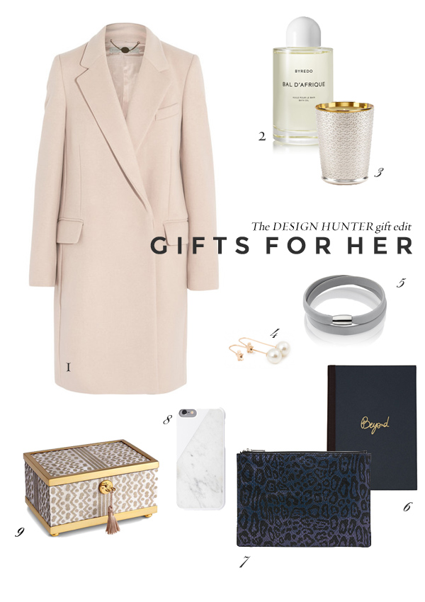 Gifts for Her | Design Hunter Gift Guide