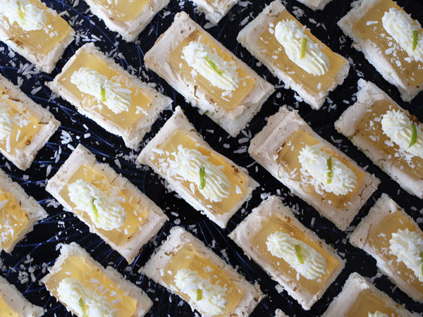 Lime Meringue with Mojito Mint Gelée | Design Hunter & Samsung Club des Chefs