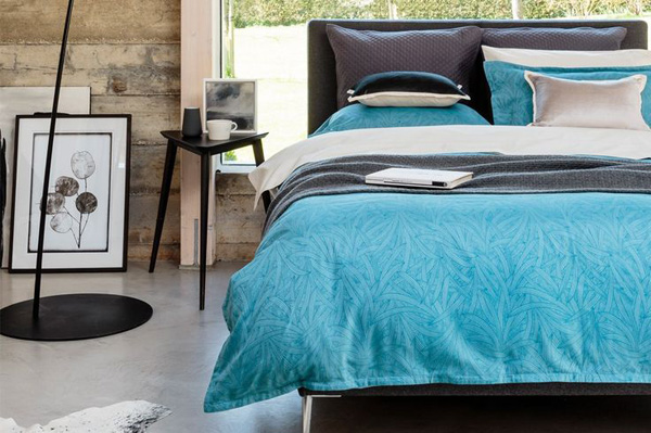 Christy Palm Frond bed linen | Design  Hunter