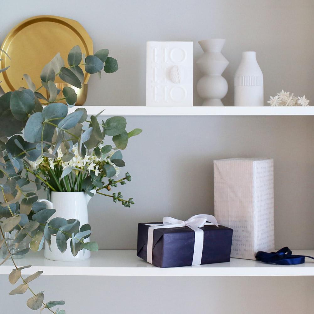 Festive shelfie | Design Hunter