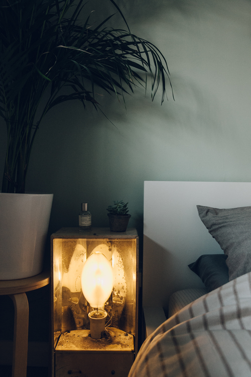 Bedside table | The Haarkon House