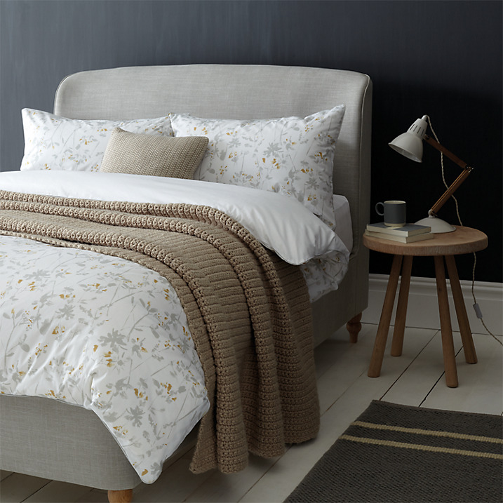 Freya bed linen and Skye bed | The Croft Collection by John Lewis
