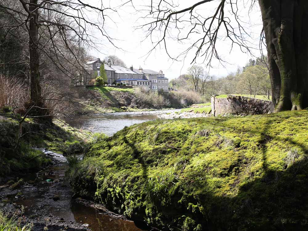 The River Hodder and the Inn at Whitewell | Design Hunter