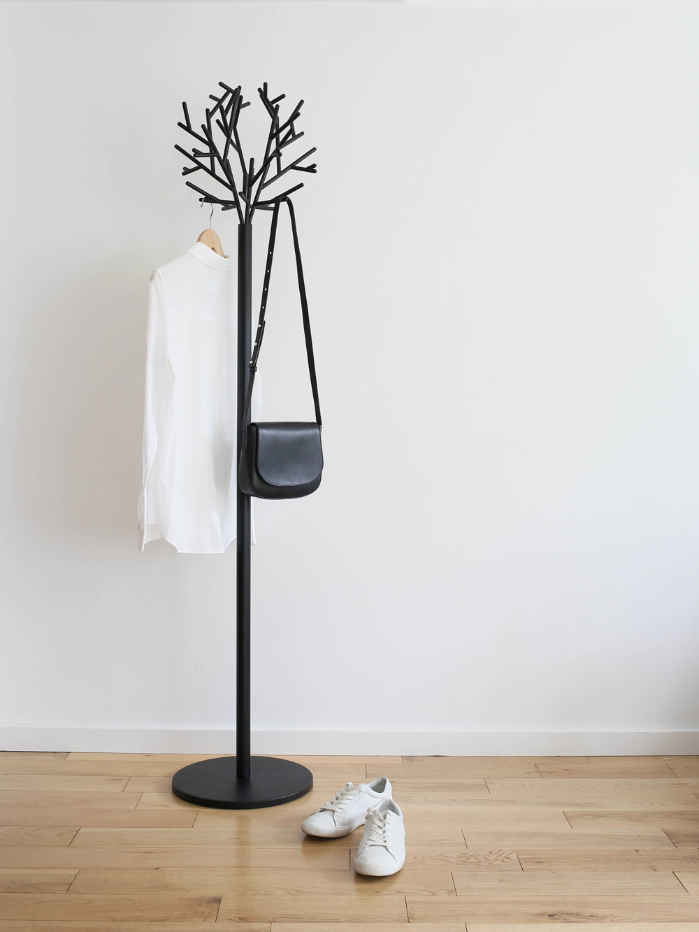Ligne Roset clara coat rack | styling by Design Hunter for Lee Longlands