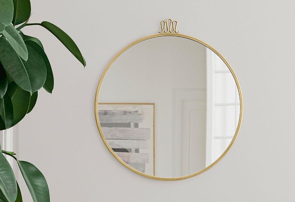 Gubi Randaccio mirror by Gio Ponti | Design Hunter