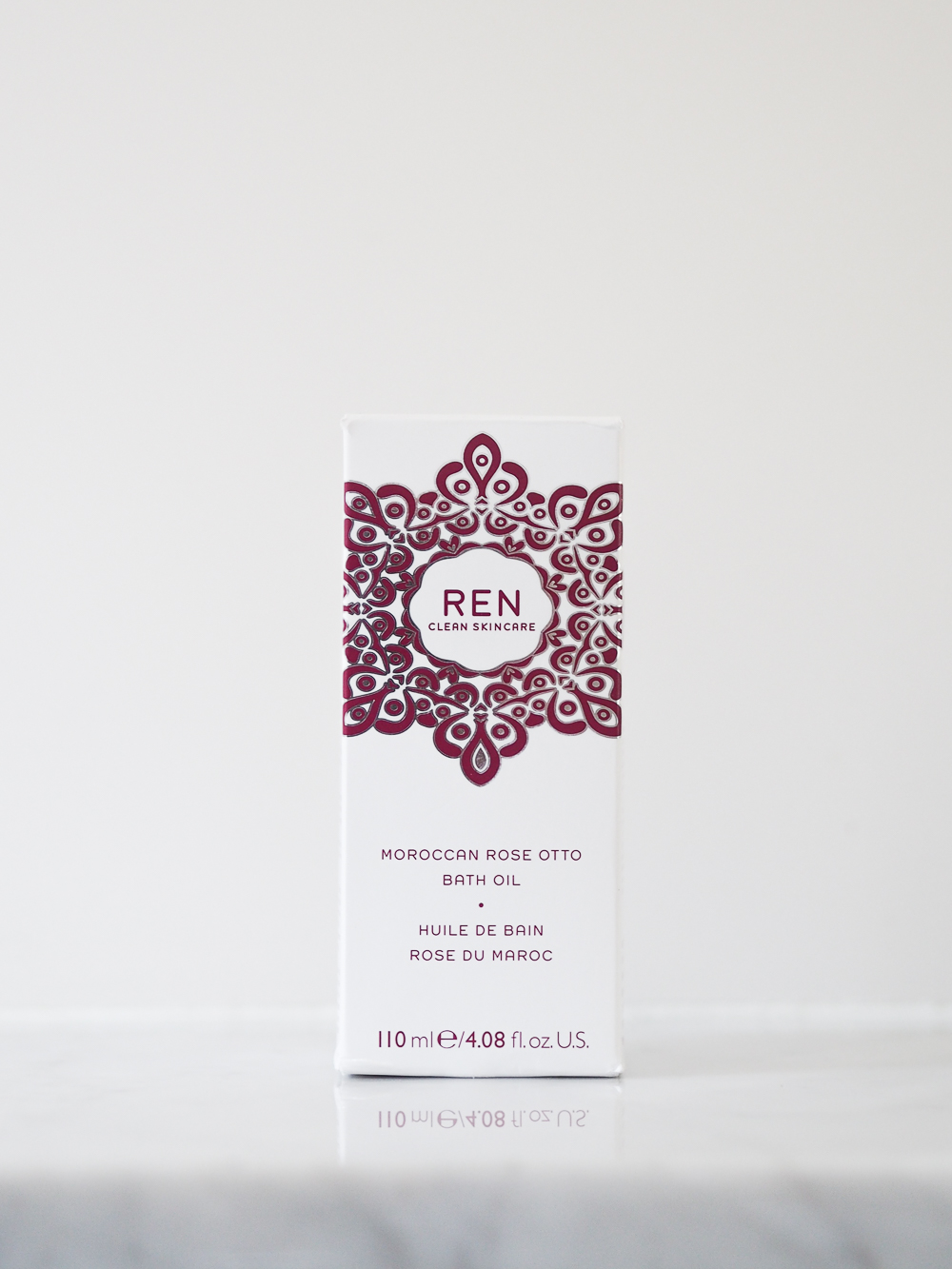 REN Moroccan Rose Otto Bath Oil review | Design Hunter
