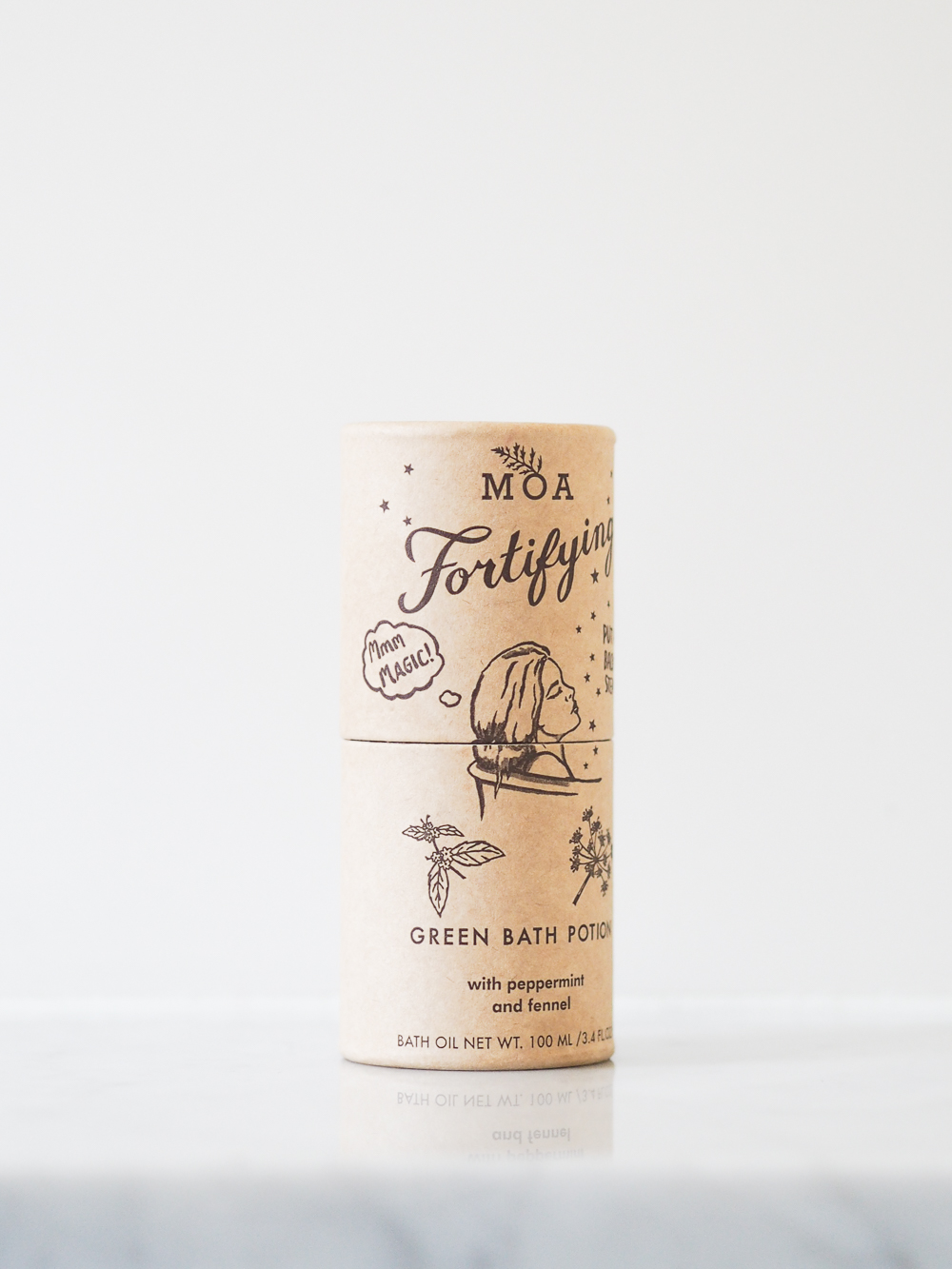 MOA Fortifying Green Bath Potion review | Design Hunter