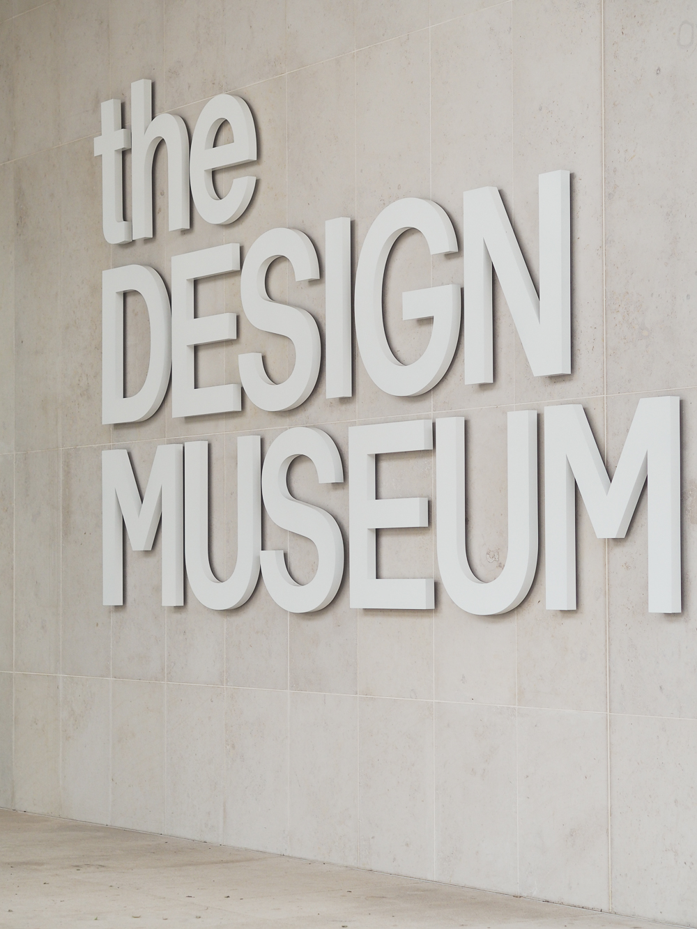 The new Design Museum