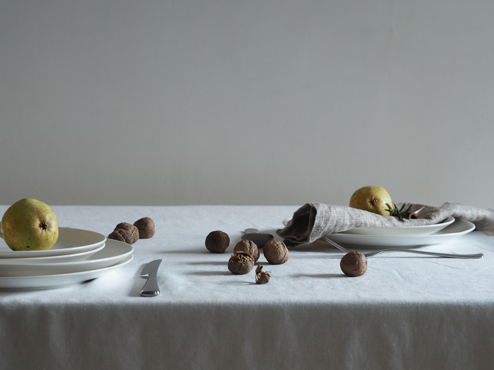 Winter table setting | Design Hunter