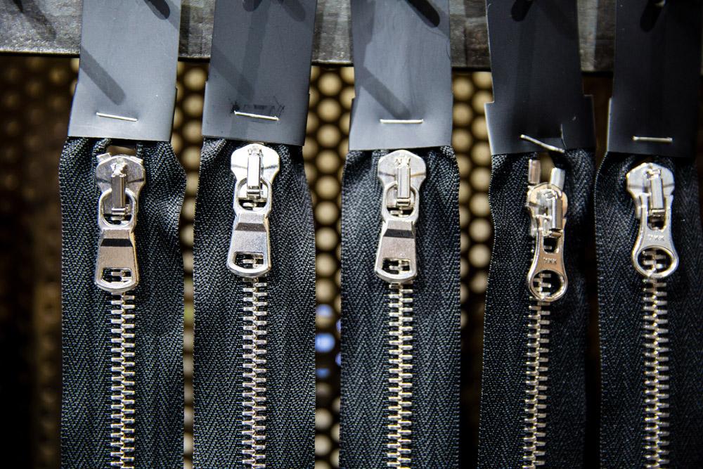 YKK zippers | Disegno magazine