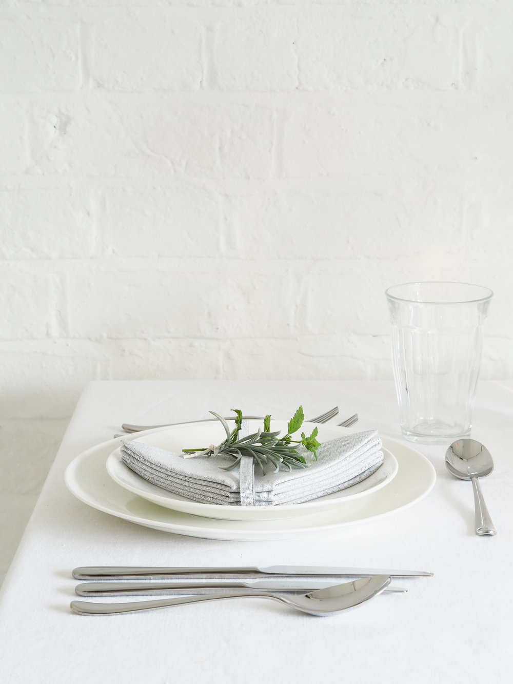 Table setting with Robert Welch cutlery | Design Hunter