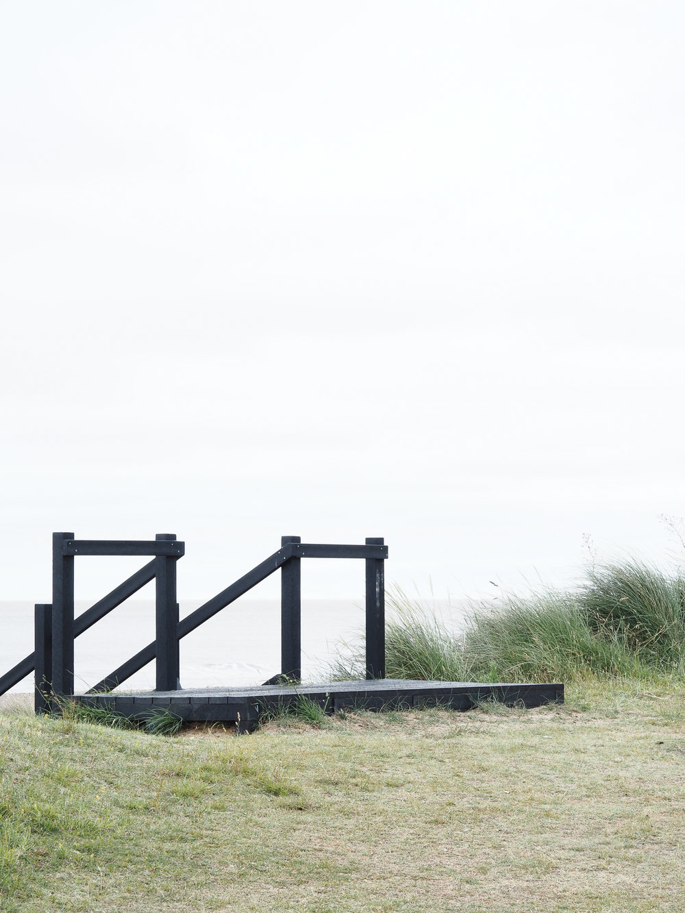 Steps on Sizewell Beach | Design Hunter
