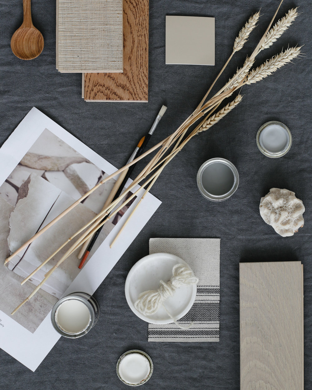 Modern rustic interiors moodboard | Design Hunter