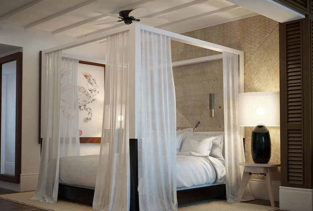 Hotel bedroom - Antalis Interior Design Awards