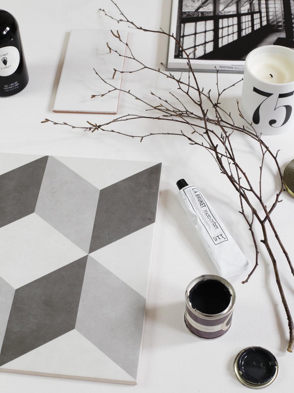 Bathroom moodboard | Design Hunter