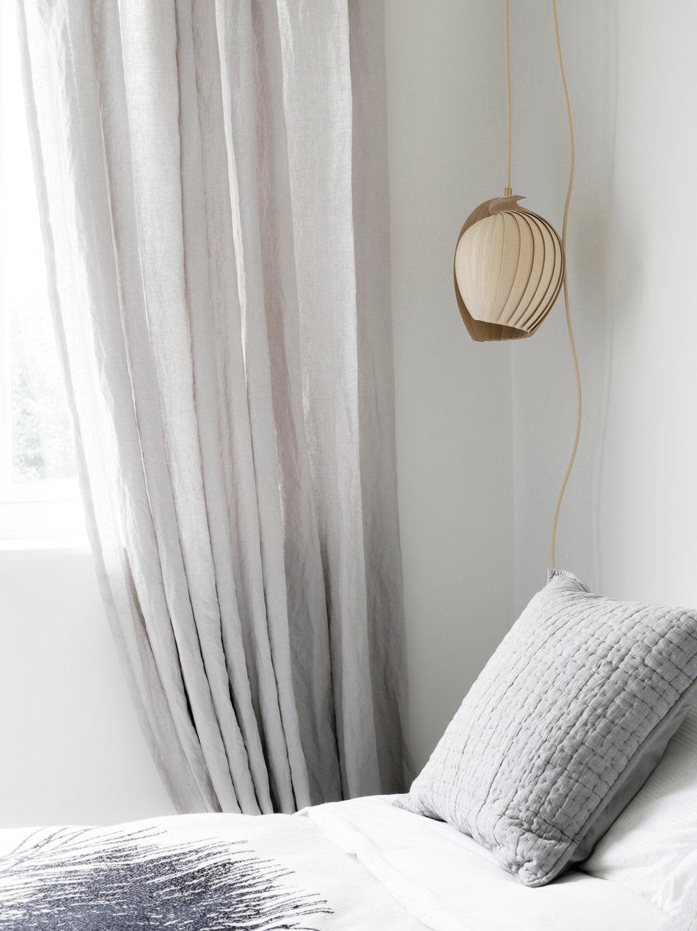 Grey linen curtains - Design Hunter