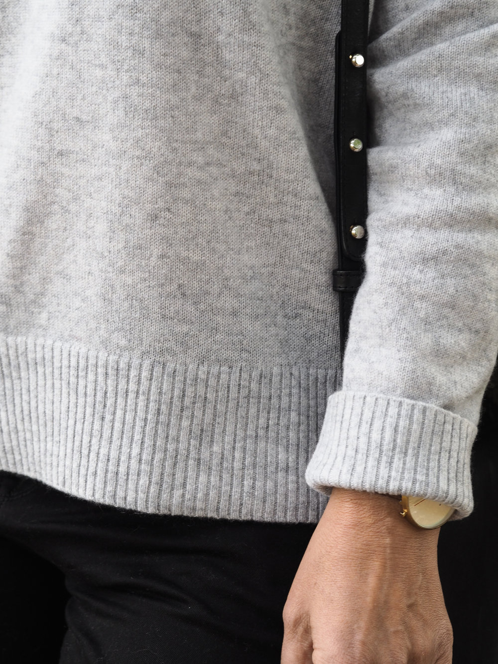 Grey cashmere sweater by The White Company | Design Hunter