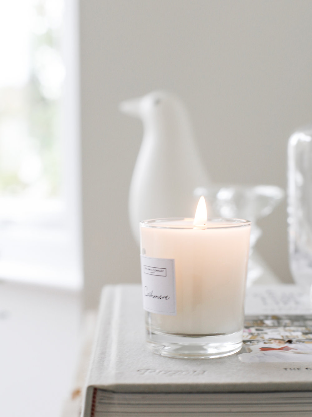 Cashmere candle | The White Company