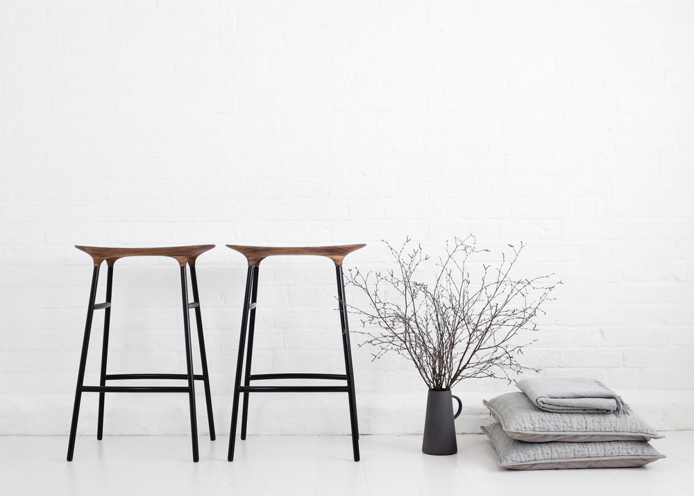 F orm bar stool  by Tim Moore