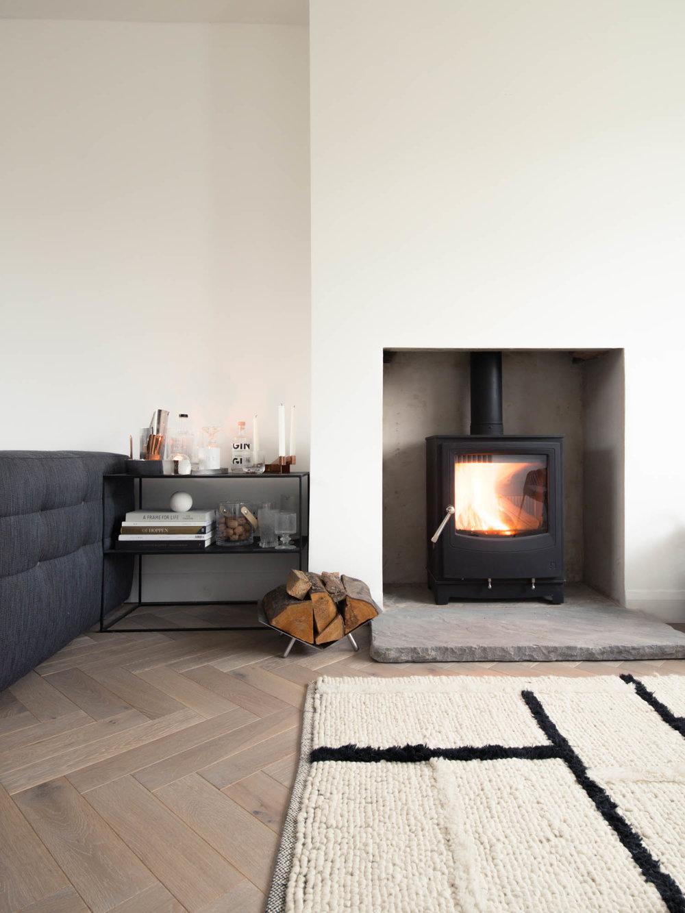 Ecodesign ready wood burning stove by Arada - Design Hunter
