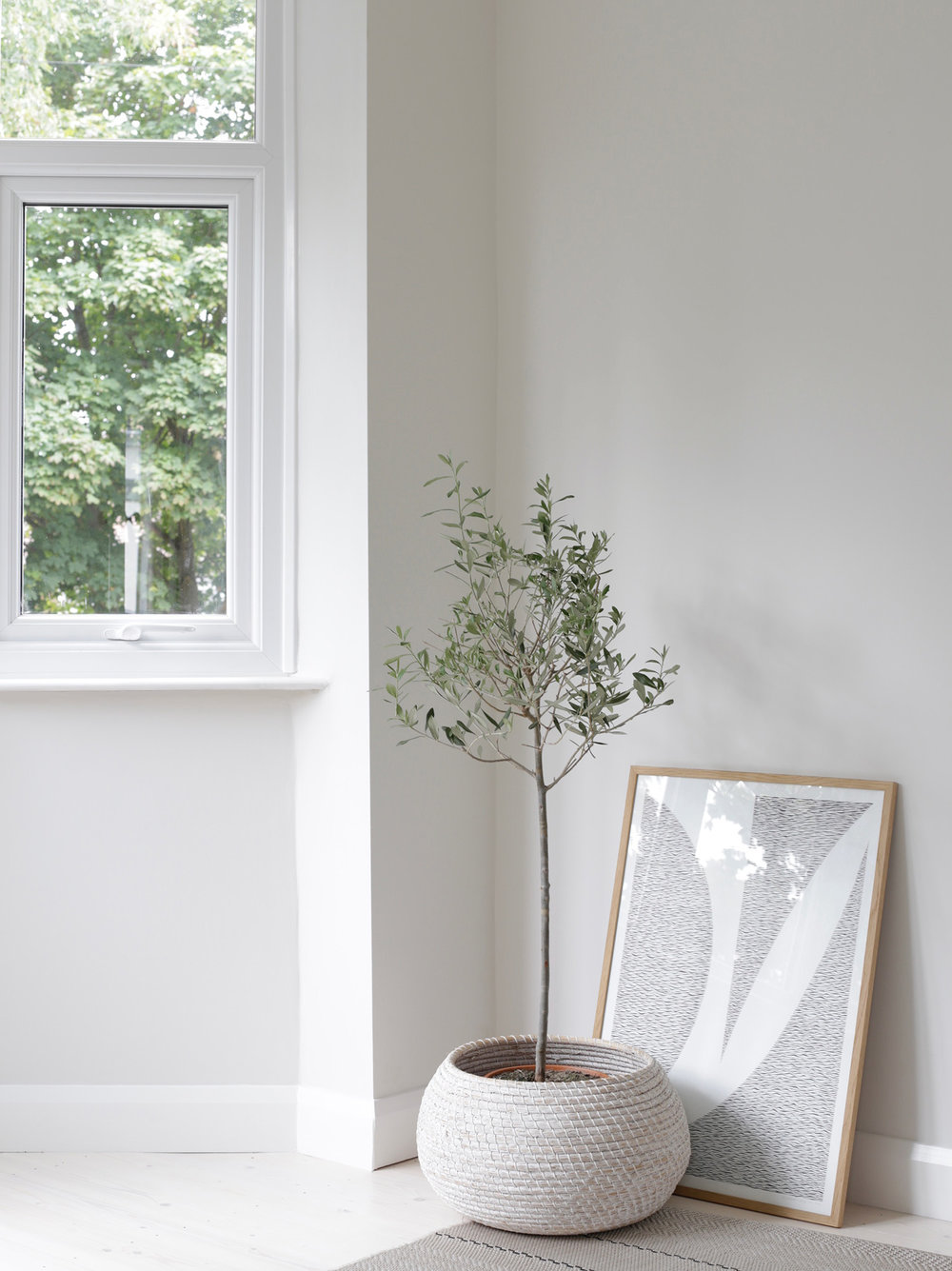 The bay window in our new 1930s style house