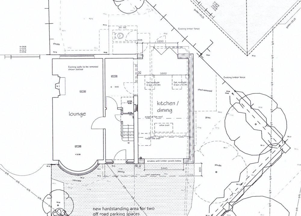 The original plans