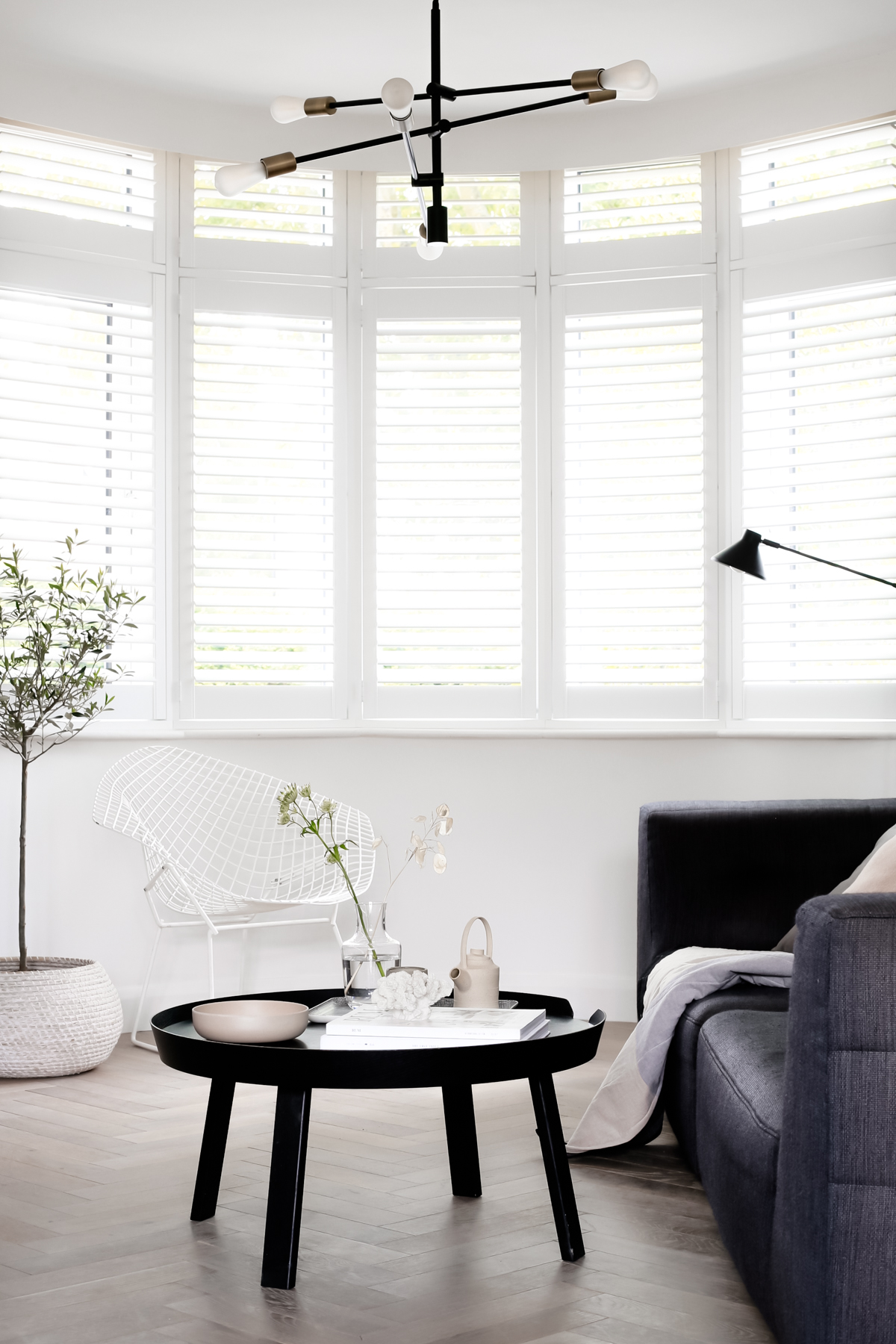 Why We Chose Shutters For Our 1930s Bay Windows Design