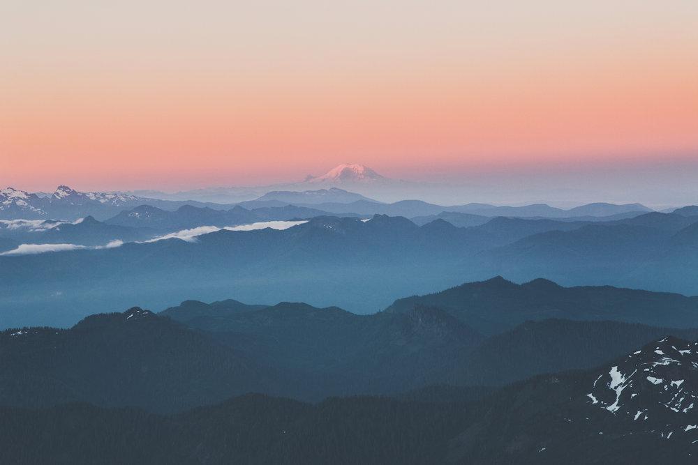 Sunrise on top of Mt. Baker.jpg