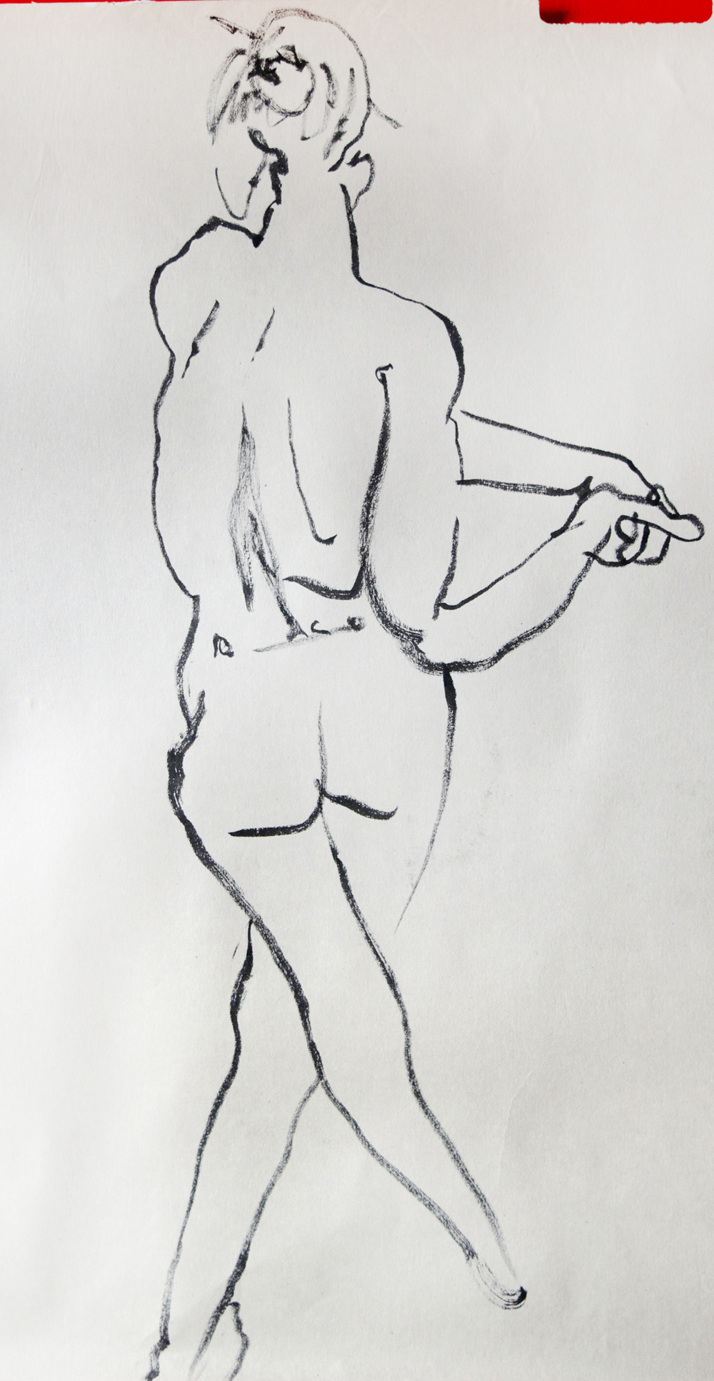 Nude.  Mixed Media. 2015