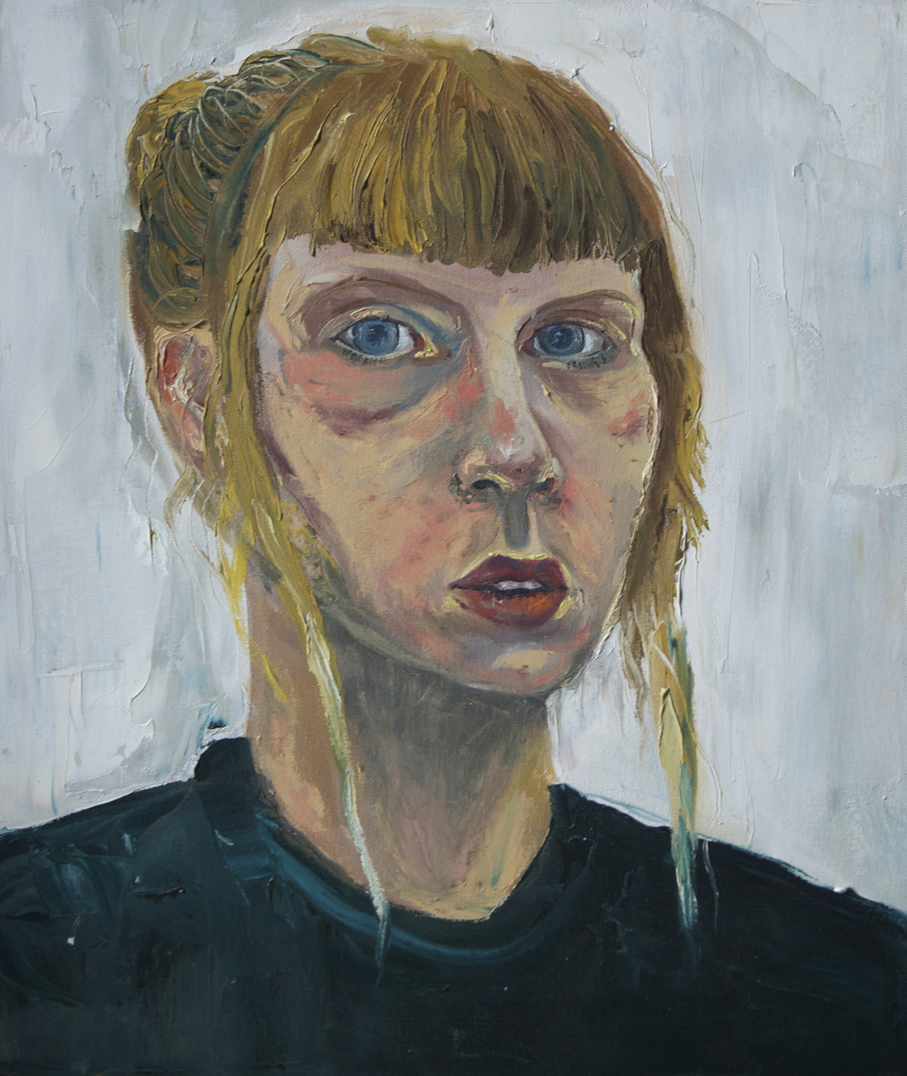 Self Portrait.  Oil. 2013