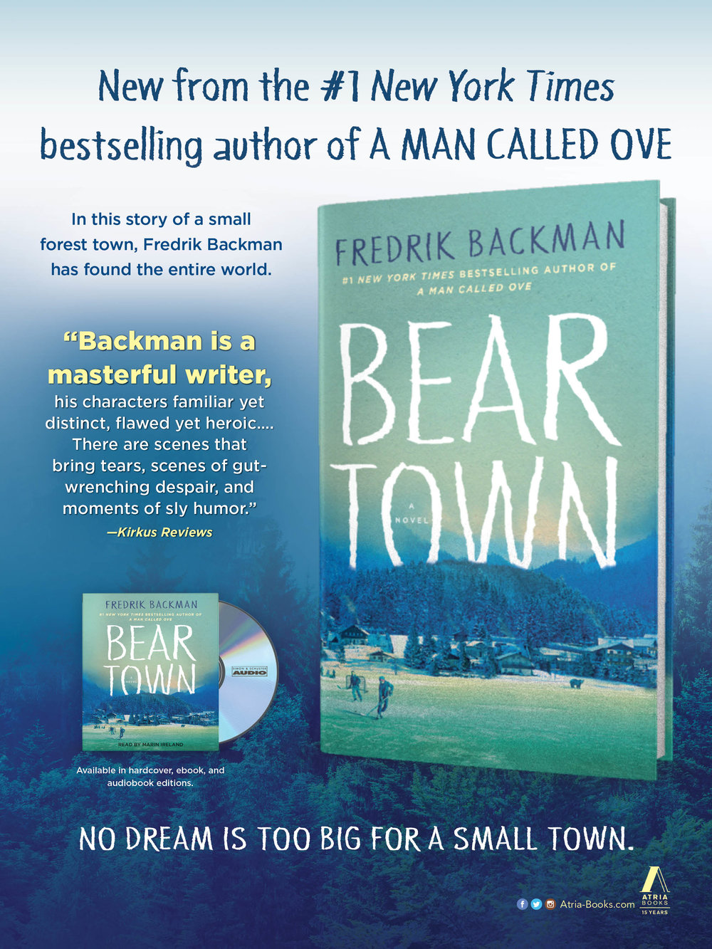 Beartown Advertisement, People Magazine, May 22, 2017 Issue