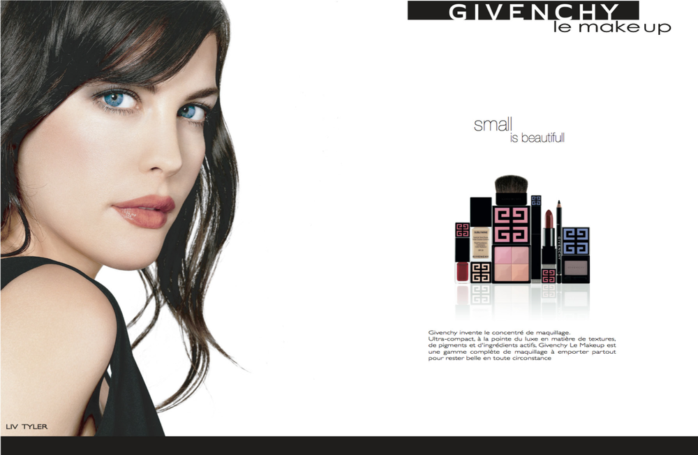 Branding Givenchy le make up