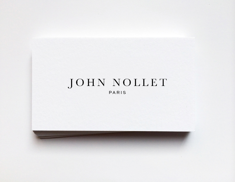 Branding collection John Nollet
